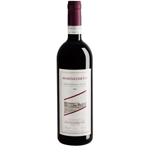 Moncucchetto Grignolino d'Asti DOC 2019 – Fratelli Biletta-enoteca84-enoteca Como-bere a Como-vino rosso-vino Biletta-Grignolino